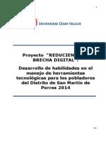 Proyecto de as-Brecha Digital 2014