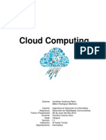 Informe Cloud Computing