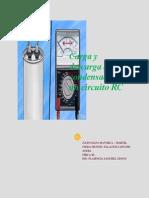 Carga y Descarga de Un Condensador en Un Circuito RC