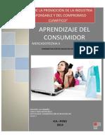 Aprendizaje Del Consumidor