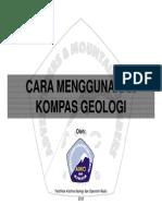 5 Cara Menggunakan Kompas Geologi