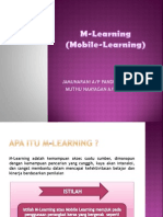 M Learning (Mobile Learning)