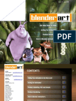 Blender Art - 15 - March 2008