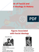 the role of fascist and communist ideology in