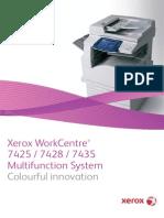 Xerox WC 7425-7435