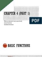 MATH Chapter 4 Part 1