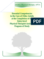 Apta Pta Geriatric Competencies