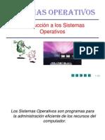 CAPITULO I Introduccion a Los Sistemas OPERATIVOS1