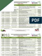 Proyectos Certificados Vigencia 2012_MUNICIPIO DUITAMA