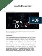 Guia en Español - Dracula Origin