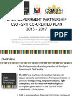 Co Created Plan Presentation