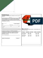 Boulder Mania Registration Form