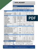 Nylacast Pom c Tech Sheet1