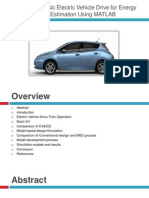 Design of Basic Electric Vehicle Drive for Energy Flow Estimation by Jay