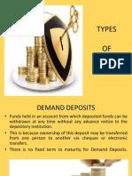 Type of Deposit