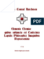 Barchusen Johann - Elementa Chemicae