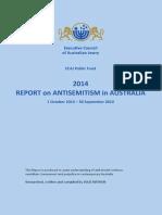 2014 Antisemitism Report