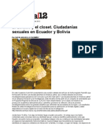 Estado y El Closet Ecuador y Bolivia