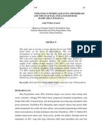 Pengembangan Perangkat Pembelajaran Ipa Smp Berbasis Kooperatif Tipe Stad Pada Tema Fotosintesis Di Smp Giki 3 Surabaya