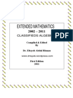 Algebra Classified