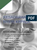 KESADARAN & NYERI KEPALA.ppt