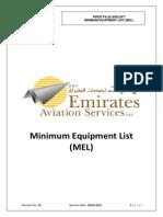 Minimum Equipment List