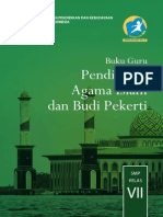 Kelas 07 SMP Pendidikan Agama Islam Dan Budi Pekerti Guru