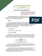 DECRETO N° 6.629 DE 04 DE NOVEMBRO DE 2008