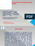 Global Consumer Packaging Market 2014-2018