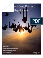 IFRS in India Its Status Overview of Concepts and Impact in India 23 January 2011