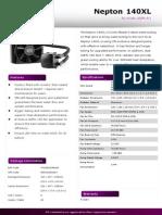 CPU Liquid Cooker Nepton 140XL Product Sheet