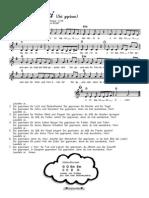 Laudato Si (Alle Strophen in G-Dur)