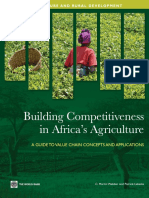 Building Competitiveness in Africa's Agriculture