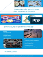 Impact of International Capital Flows on India's Economic Growth