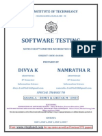 Software Testing_notes ( Divya - Rnsit)
