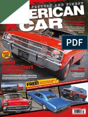 1974 Dodge Dart Sport Swinger GTS NOS Frame Dimensions Front End Alignment Specs