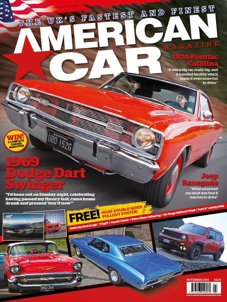American Car November 2014 Uk General Motors Dodge Wiring Diagram 1953 Ford Customline Tudor