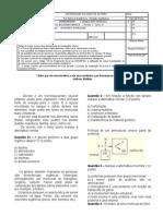 Prova Bioquimica ENF