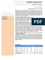 Construction Sector Update 20141107