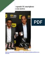 Idea Cellular Expands 3G Smartphone Portfolio