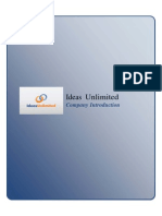 Ideas Unlimited - Company Introduction PDF