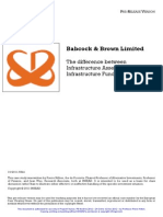 Babcock & Brown Limited - The difference between Infrsatructure Assets and Infrastructure Funds.pdf