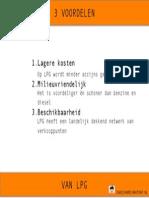 Voordelen van LPG