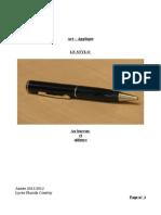 Art appliqué stylo.odt
