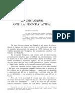Cayetano Betancur, El cristianismo ante la filosofía (con introducción de 1963)