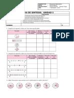 Guía de Ejercitación. Unidad 3. Fracciones