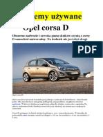 Testujemy Opel Corsa d