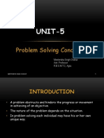 Problem Solving Concept by Meetendra Sir(Unit 5)