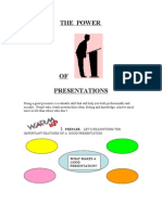 The POWER of Presentations