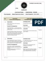 Nebosh IGC-3 Observation Sheet (00218445) Final